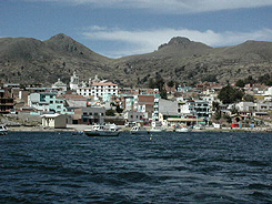 The view as one leaves Puno, Peru.